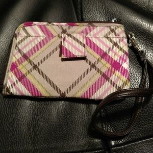 Thirty-One Grab and Go Wristlet with strap